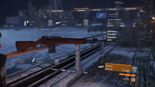 the division 2 m1a changes