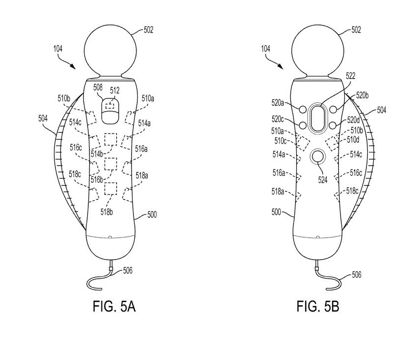 new ps move controller, New PS Move Controller With Finger Tracking Feature Spotted in Latest PlayStation Patent, MP1st, MP1st