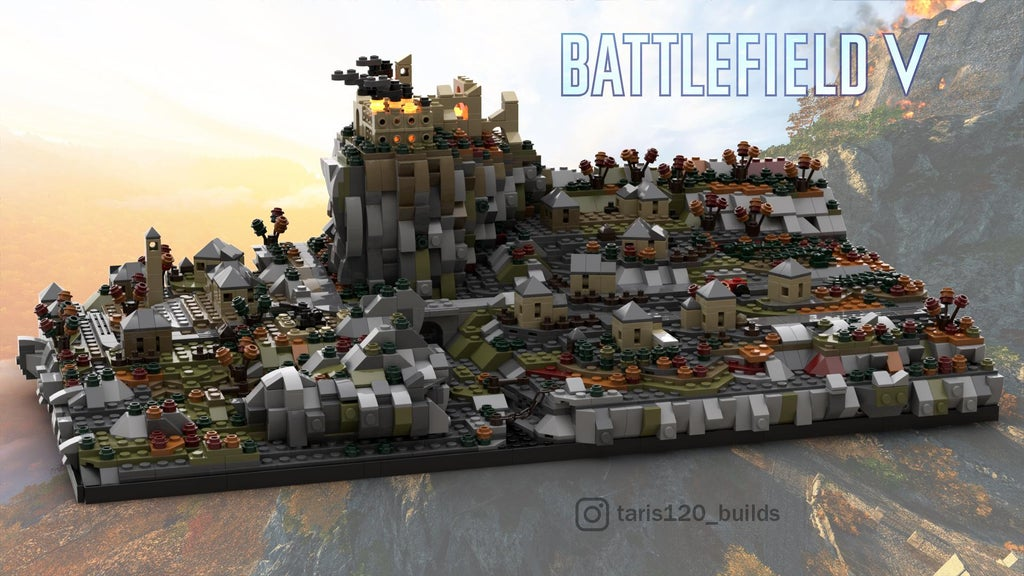 battlefield lego, Call of Duty and Battlefield LEGO Renditions of Levels Need to Be Seen to Be Believed, MP1st, MP1st