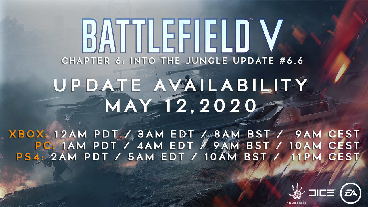 battlefield v update 6.6 patch notes