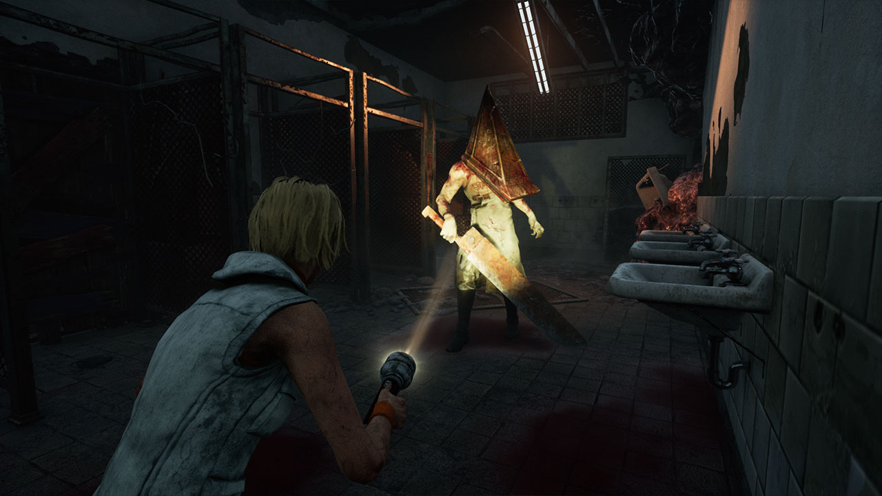 dead by daylight X silent hill gameplay