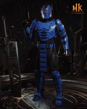 mortal kombat 11 aftermath robocop skins, Mortal Kombat 11 Aftermath Robocop Skins Revealed, Fujin Gear Showcased, MP1st, MP1st