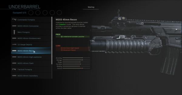 call of duty warzone infinite underbarrel ammo