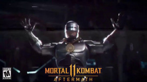 Mortal Kombat 11 RoboCop Friendship Has Him Dancing the Robot, Sheeva Trailer Revealed