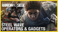 rainbow six siege steel wave operators gameplay, Rainbow Six Siege Steel Wave Operators Gameplay, Abilities Showcased in New Video, MP1st, MP1st