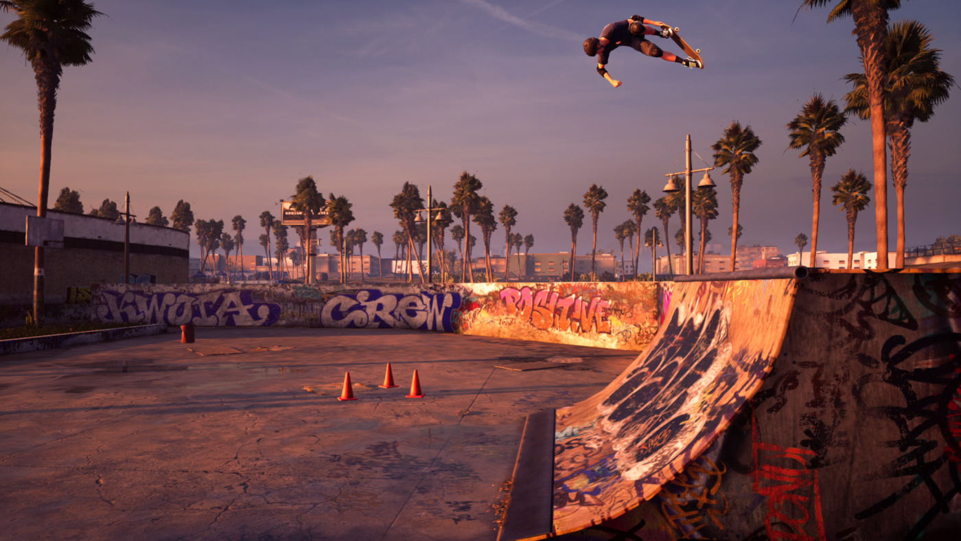 See the first footage from Tony Hawk's Pro Skater 1+2