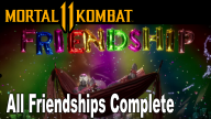 mortal kombat 11 friendships compilation, Mortal Kombat 11 Friendships Compilation Showcased, MP1st, MP1st