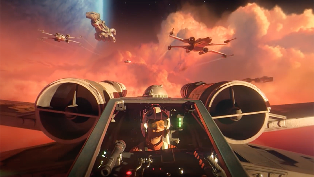 star wars squadrons raw gameplay