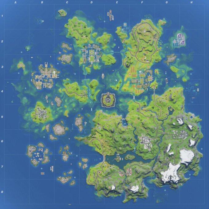 Fortnite Chapter 2 Season 3 Map Fortnite Chapter 2 Season 3 Map Revealed MP1st MP1st