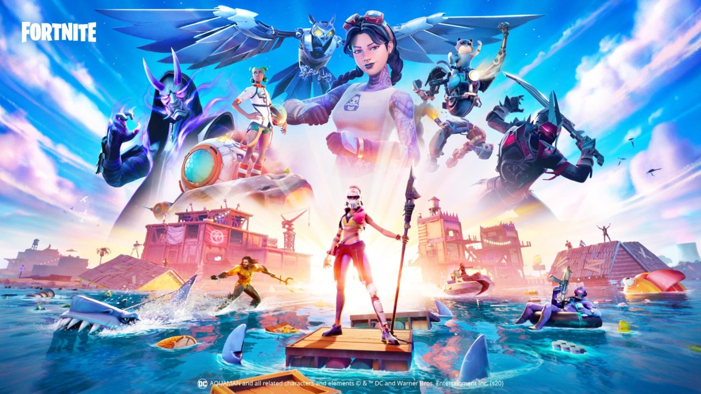Fortnite has flooded in Chapter 2 - Season 3 Splashdown trailer