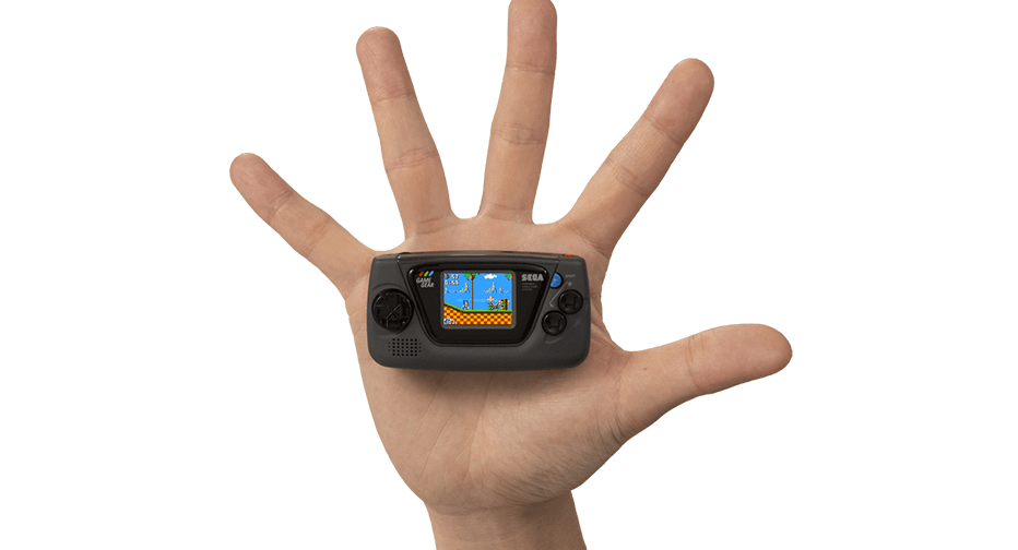 Sega Is Releasing A Game Gear Micro