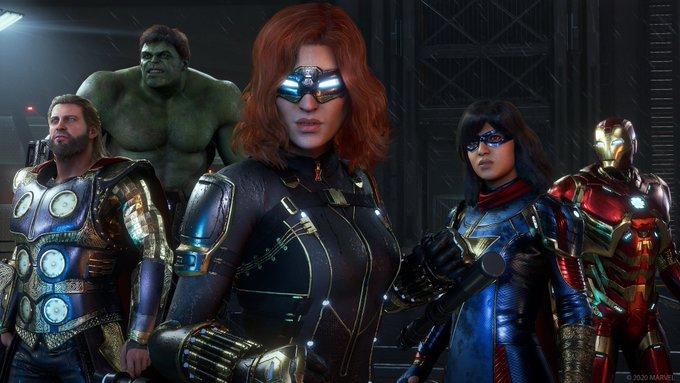 new marvel's avengers story trailer