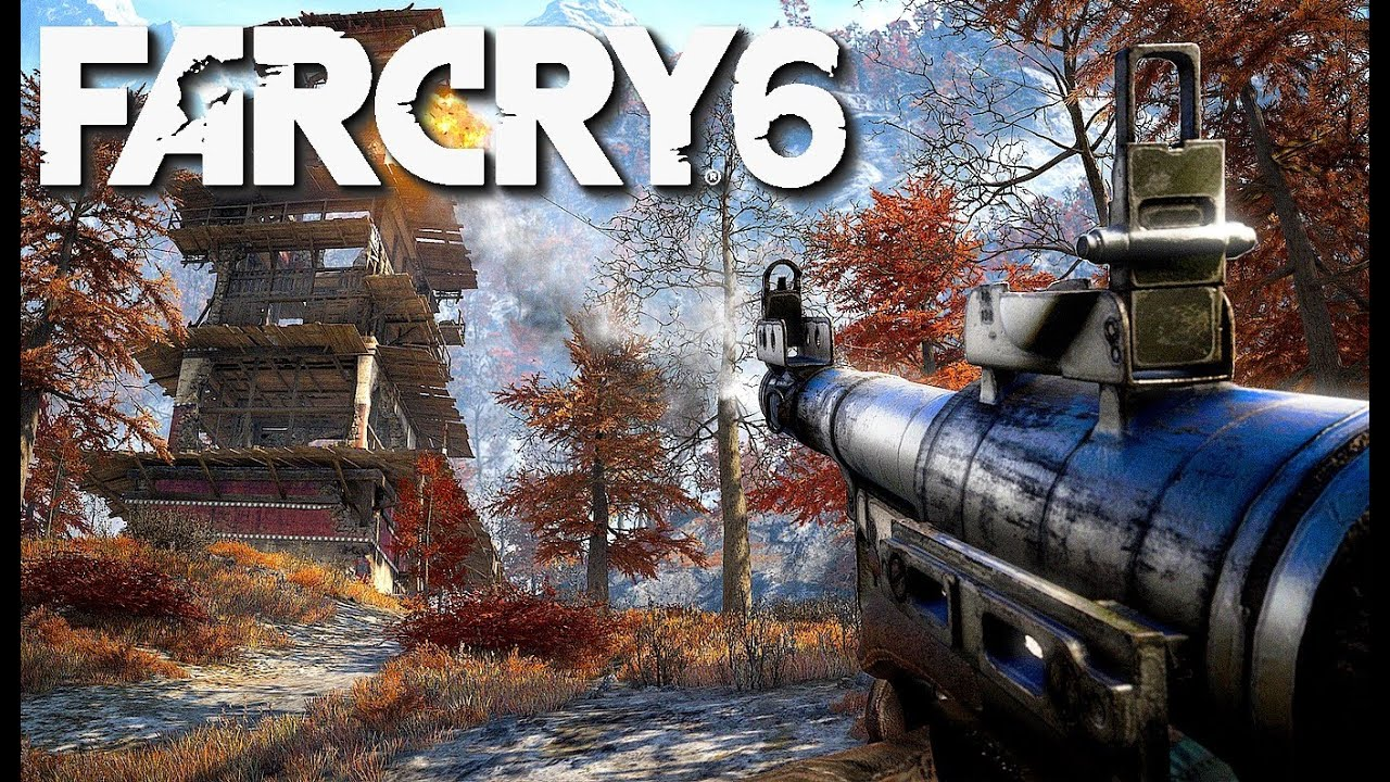 Far Cry 6 Gets First Screenshots and Artwork Showing Weapons, Environments, & More