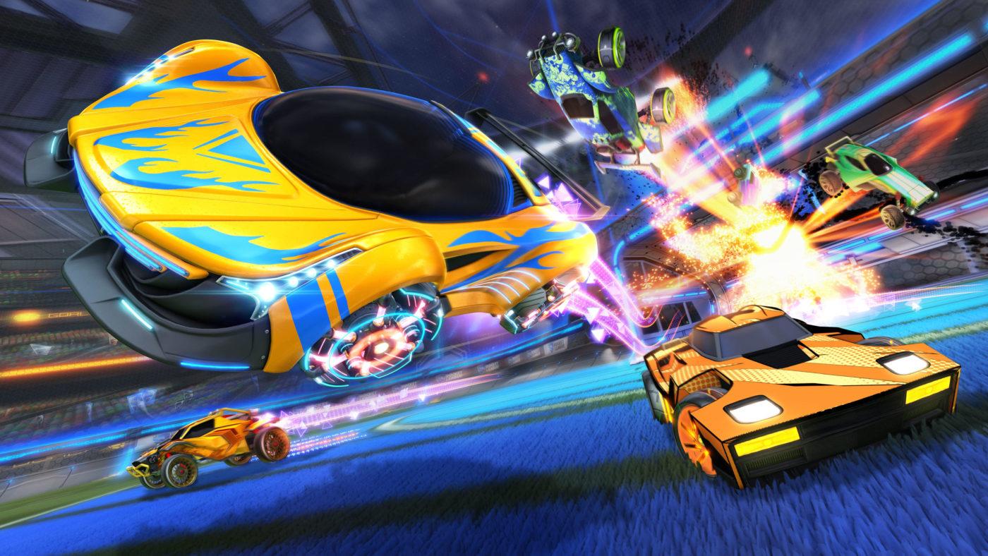 Rocket League Update 1.80 July 3