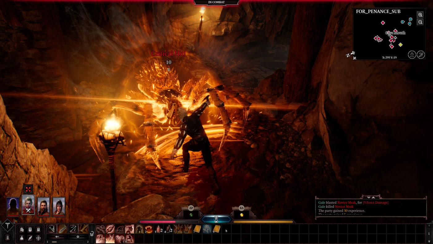 Baldur's Gate 3 4K Gameplay