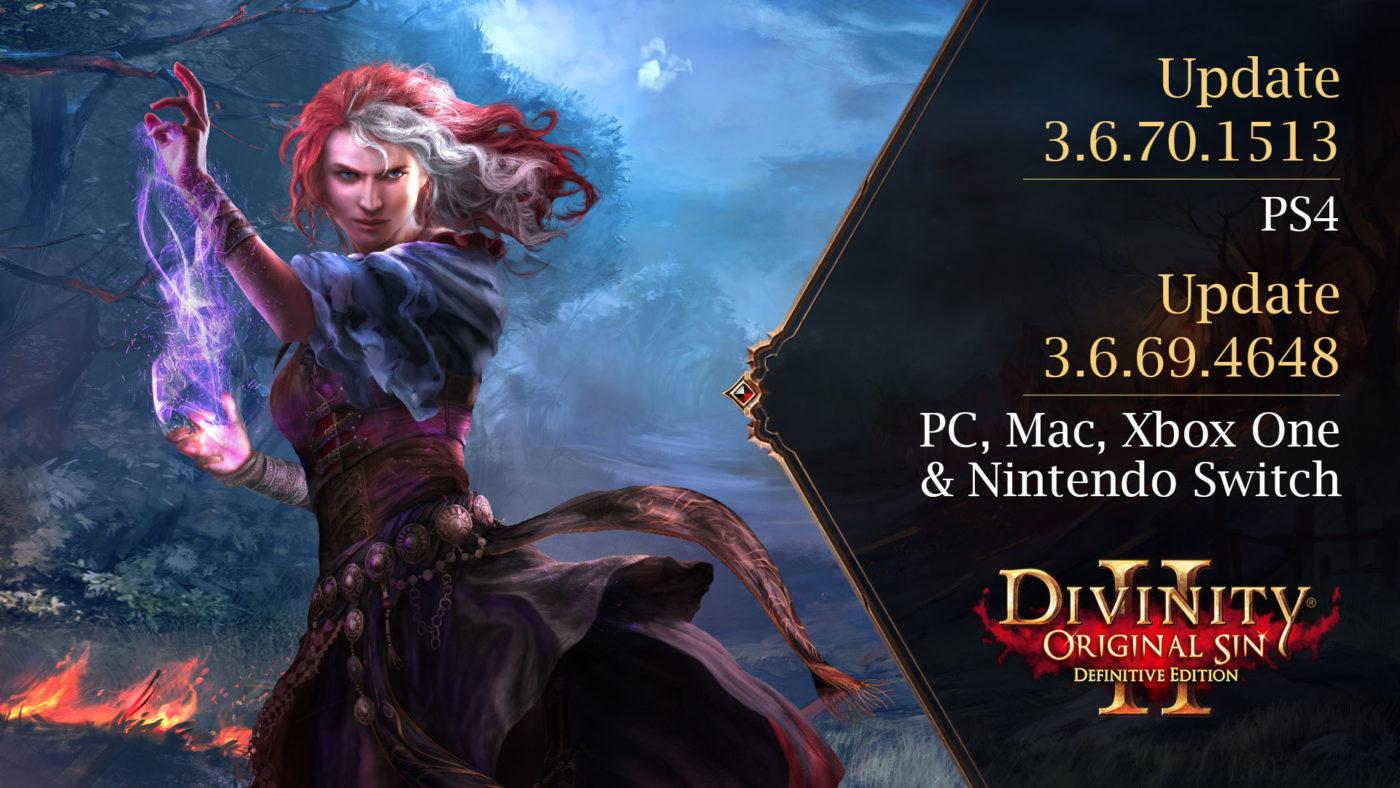 Divinity Original Sin 2 Update 1.14 August 13