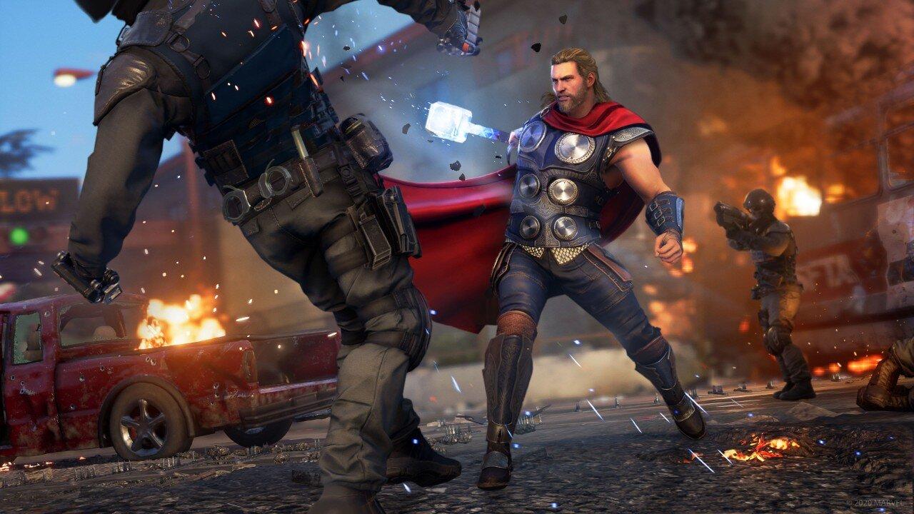 Marvel's Avengers Game Thor Skill Tree