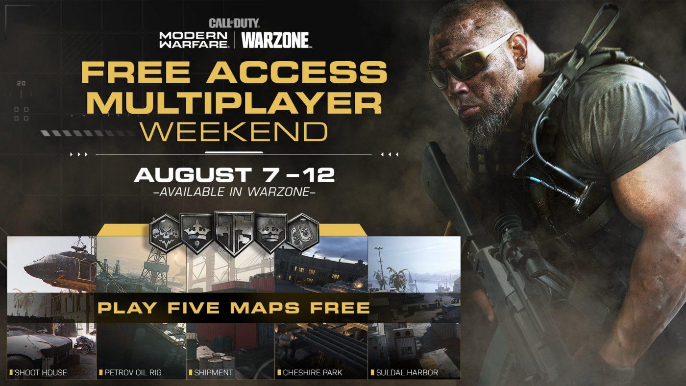 modern warfare free weekend