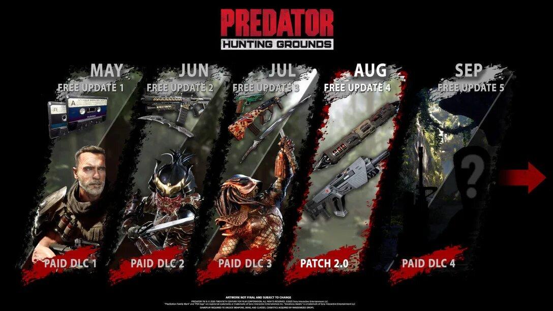 Predator Hunting Grounds Update 2.02 August 28