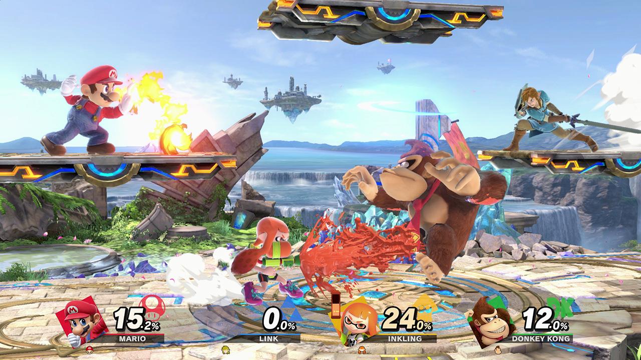 Super Smash Bros Ultimate Update 8.1.0
