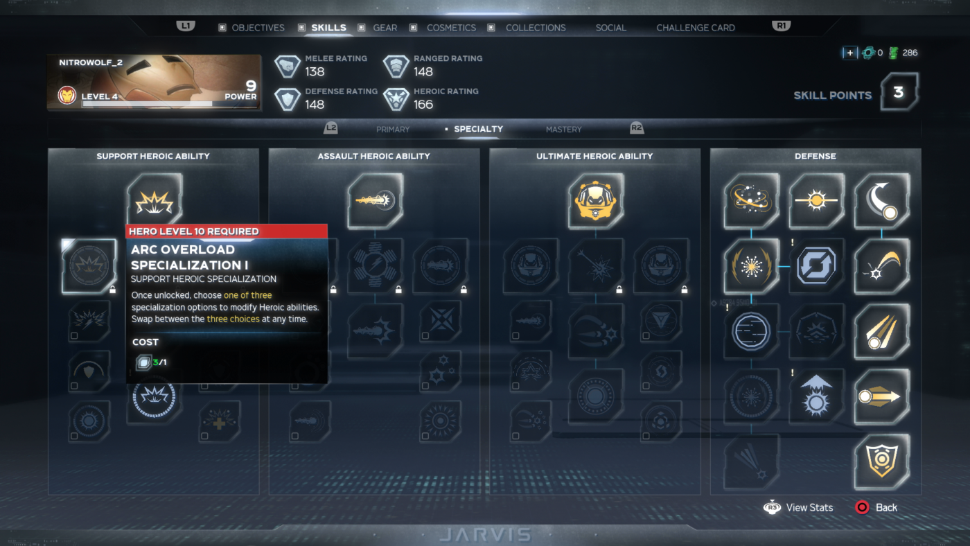 Avengers Game Captain America Skills Specialty (2)