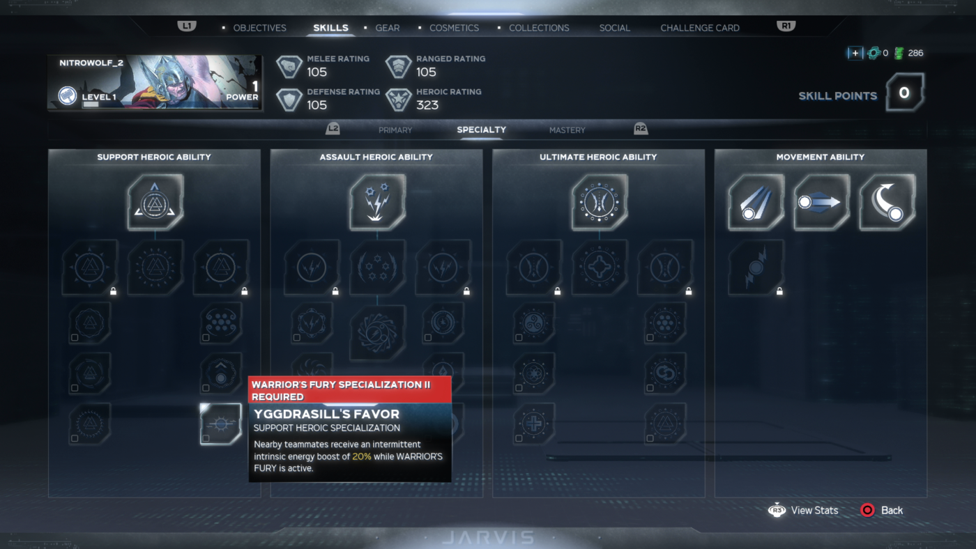 Avengers Game Thor Skills Specialty (10)