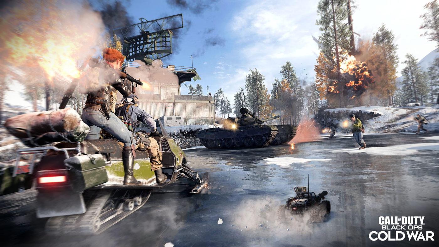 Black Ops Cold War scorestreaks list