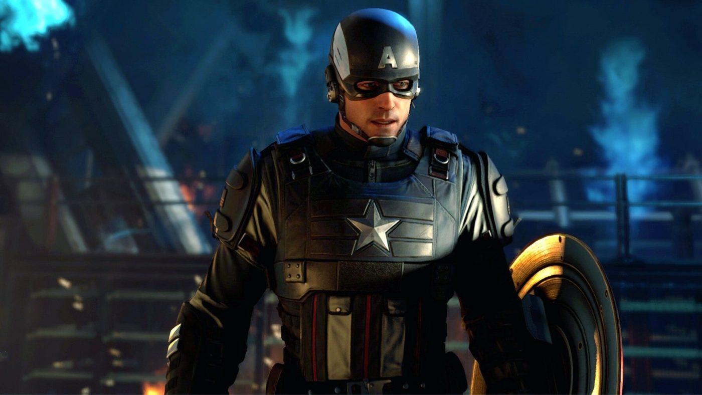Marvel's Avengers Game Captain America Build