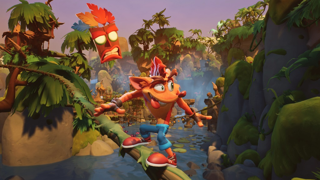 Crash Bandicoot 4 It's About Time Drops Game review