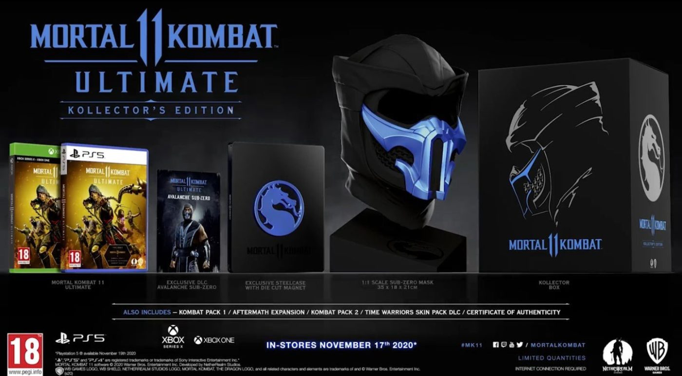 Mortal Kombat 11 Ultimate Kollector Edition