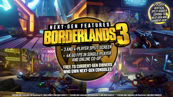 Borderlands 3 Season Pass 2 Announced, Next-Gen Update Details Released