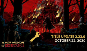 For Honor Update 2.23 October 22 Pushes TU2.23.0 Out