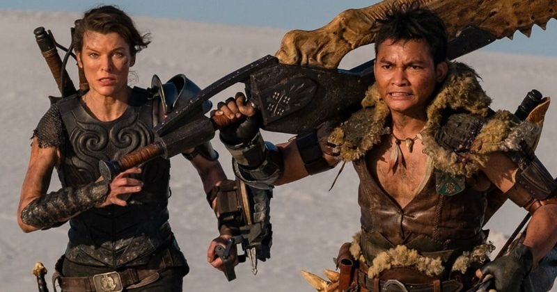 First teaser trailer for Monster Hunter movie starring Milla Jovovich