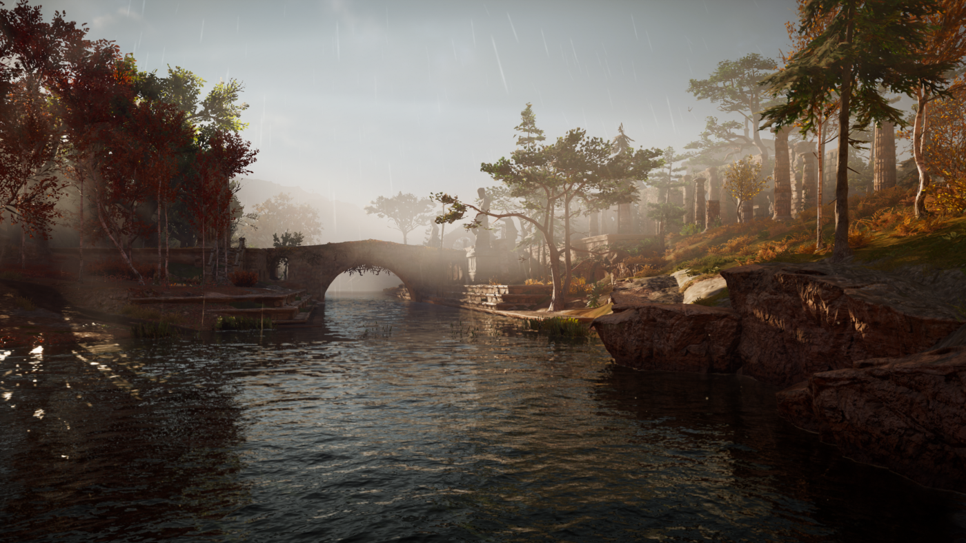 Assassin's Creed® Valhalla PS4 Pro Screen