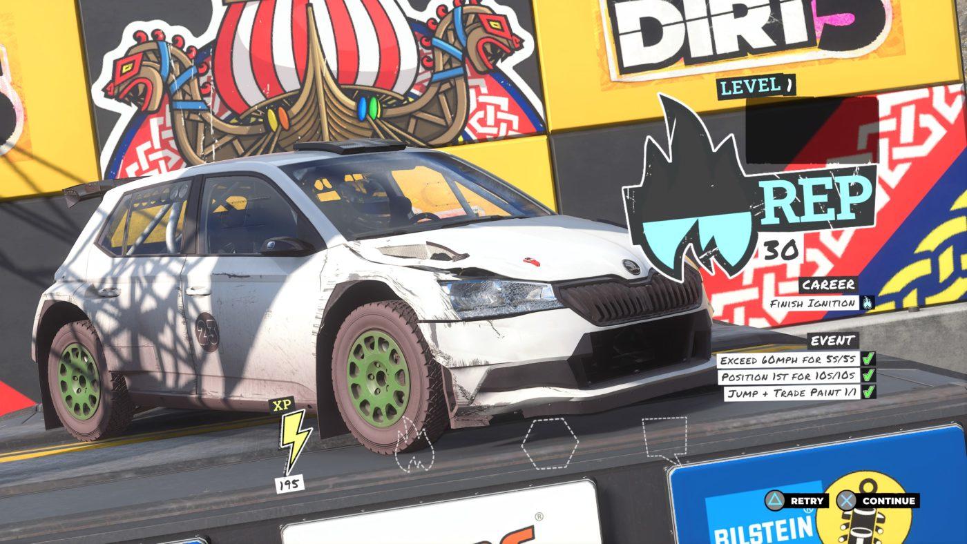 Dirt 5 Review Screen 2