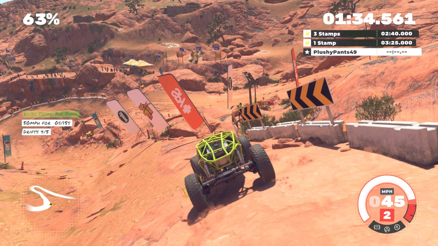 Dirt 5 Review Screen 3