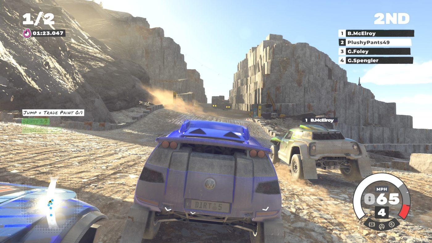 Dirt 5 Review Screen 1