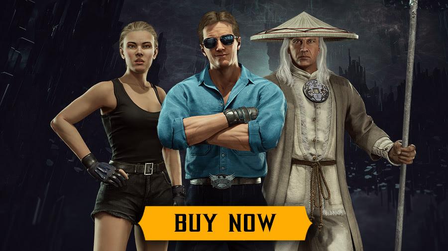 Mortal Kombat 11 Movie Skin Fix
