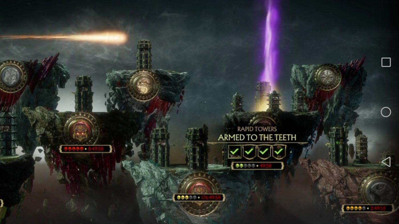 Mortal Kombat 11 Tower of Time Meteor Secret