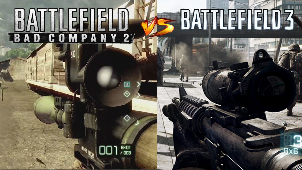 Bad Company 2 vs. Battlefield 3