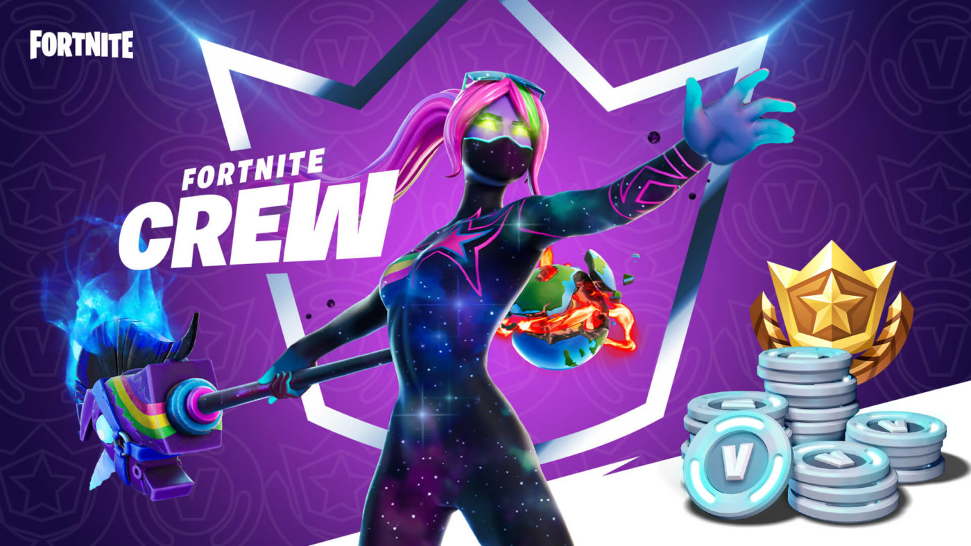 Epic Games introduces monthly Fortnite Crew subscription for