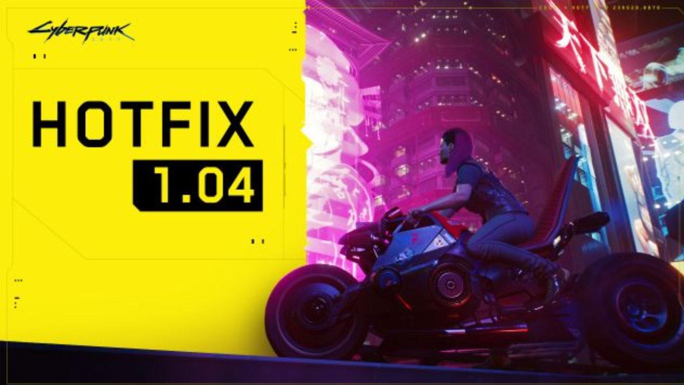 Cyberpunk 2077 Update 1.04 December 11