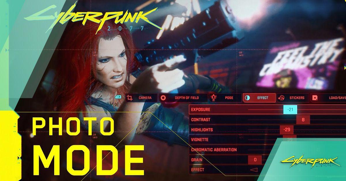 Cyberpunk 2077 Photo Mode Revealed