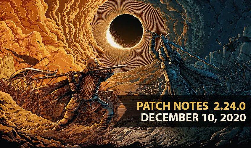 For Honor Update 2.24 December 10