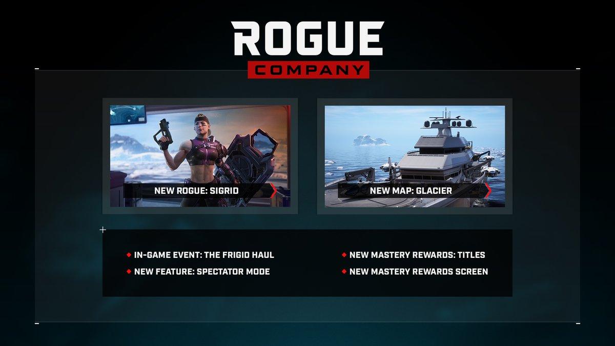 Rogue Company Update 1.44 December 16