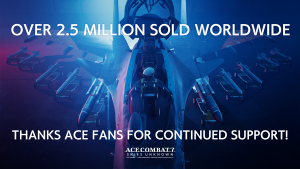 Ace Combat 7 Update 1.60 Brings New Free Content, Over 2.5 Million Units Sold