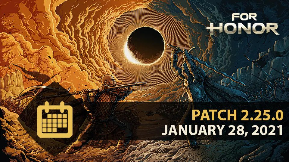 For Honor Update 2.25 January 28