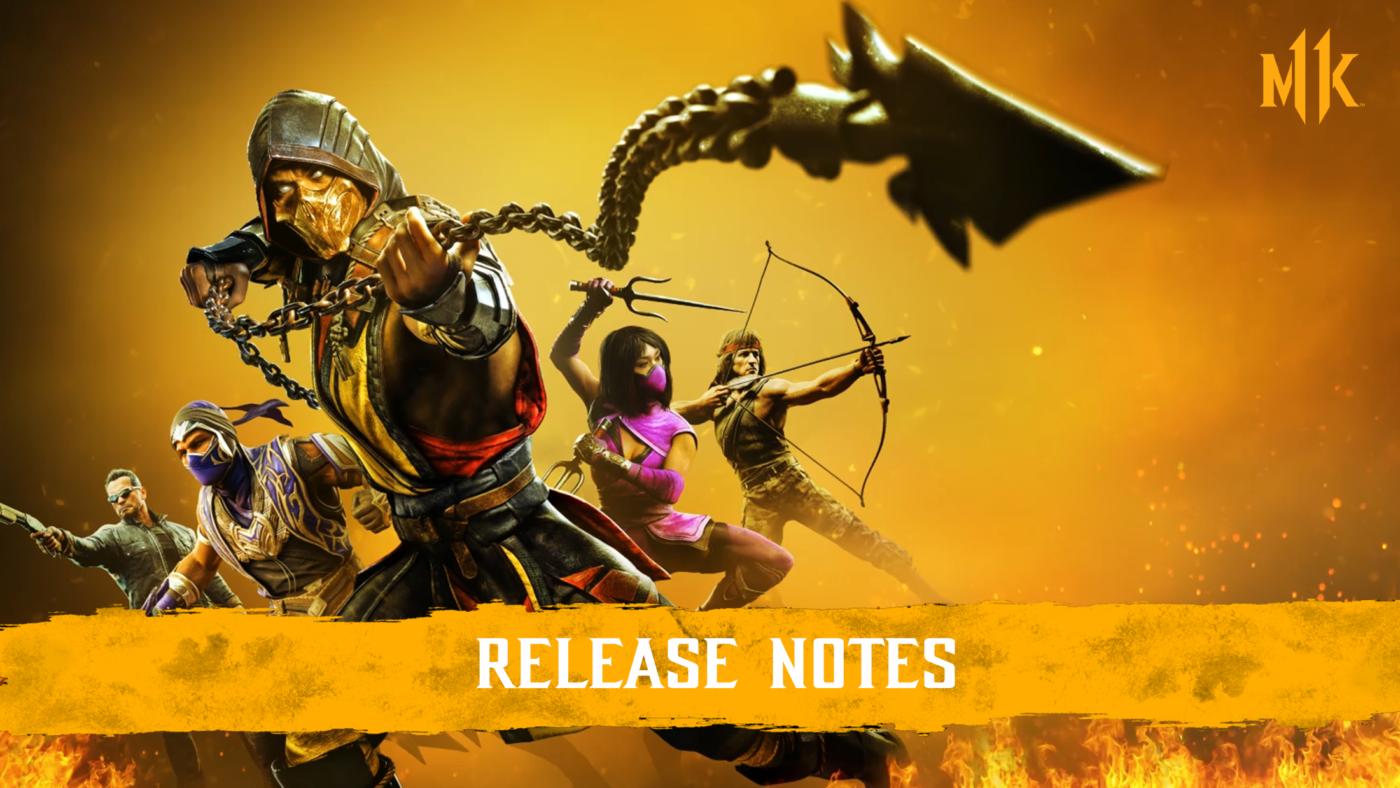 MK11 Update 1.28 January 26