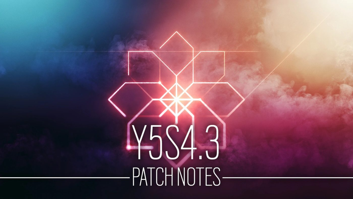 Rainbow Six Siege Update 2.01 January 28 R