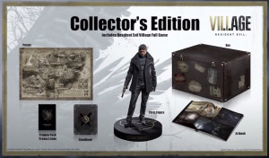 Resident Evil Village Collector's Edition and Deluxe Edition Packages Revealed